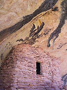 Anasazi ruins in Lower Mule Canyon, Comb Ridge, San Juan County, Utah.