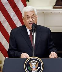 Washington: President Trump meets President Abbas 3 May 2017