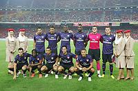 Arsenal team photo ahead of their friendly match against the Malaysia XI  at the National Stadium Bukit Jalil, Kuala Lumpur. Malaysia