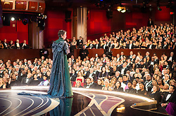 Olivia Colman accepts the Oscar® for performance by an actress in a leading role during the live ABC Telecast of the 91st Oscars® at the Dolby® Theatre in Hollywood, CA on Sunday, February 24, 2019.