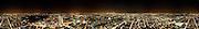 andy spain architectural photography london night panorama 360 from BT Tower