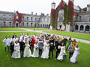 21/09/2016 REPRO FREE:   Daring to Care At NUIG in aid of Cancer Society. Photo:Andrew Downes, XPOSURE.
