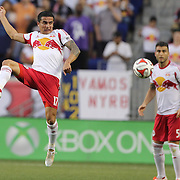 Tim Cahill, New York Red Bulls, in action during the New York Red Bulls Vs Chicago Fire, Major League Soccer regular season match at Red Bull Arena, Harrison, New Jersey. USA. 10th May 2014. Photo Tim Clayton