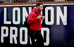 Watford's Troy Deeney arrives at the stadium prior to the Premier League match at Selhurst Park, London.