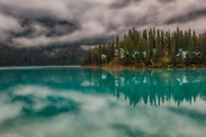 Fairy tale morning at Emerald Lake, Yoho National Park.