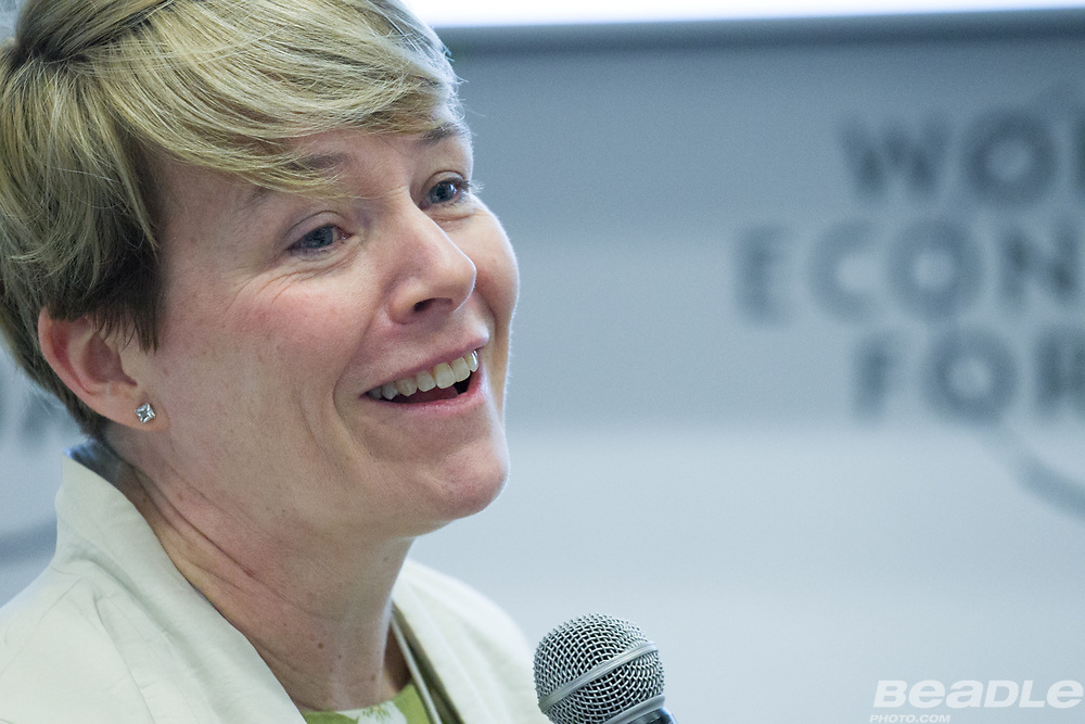 Cheryl Martin, Head of Industries, Member of the Managing Board<br /> World Economic Forum at the World Economic Forum on Africa 2017 in Durban, South Africa. Copyright by World Economic Forum / Greg Beadle