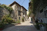 Narrow alleyway, Taormina, sicily, Italy, July 2006