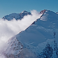 ANTARCTICA. Unnamed summits in Queen Maud Mountains, a range of the vast Trans-Antarctic Mountains.