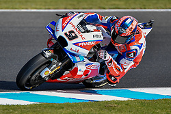 October 26, 2018 - Melbourne, Victoria, Australia - Italian rider Danilo Petrucci (#9) of Alma Pramac Racing in action during day 2 of the 2018 Australian MotoGP held at Phillip Island, Australia. (Credit Image: © Theo Karanikos/ZUMA Wire)