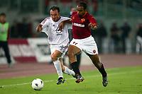 Roma 20 Maggio 2003 - Rome May 20 2003 <br />Andata finale di Coppa Italia - First Match final Italy's Cup <br />Roma Milan 1-4 <br /><br />Cristian Brocchi (Milan) and Emerson Ferreira (Roma)