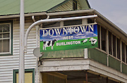Northcentral Pennsylvania, Rural unrestored town, West Burlington, PA