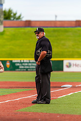 31 July 2020:  during a Kernel League Baseball game at Corn Crib Stadium on the campus of Heartland Community College in Normal Illinois