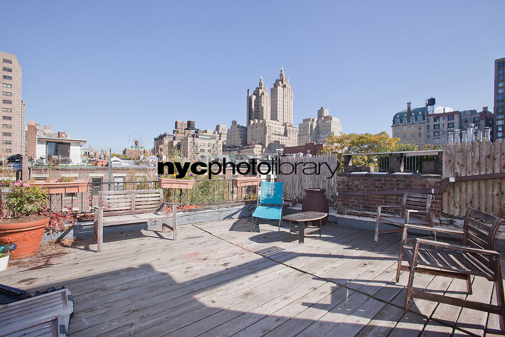 Roof Deck at 57 West 88th Street