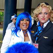 NLD/Amsterdam/20110806 - Canalpride Gaypride 2011, Patty Brarden Gordon Heuckeroth