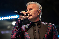 Martin Fry of ABC performing live on stage during Solihull Summerfest Tudor Grange Park Solihull  West Midlands 2021
