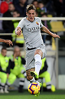 Nicolo Zaniolo of AS Roma in action during the Serie A 2018/2019 football match between ACF Fiorentina and AS Roma at stadio Artemio Franchi, Firenze, November 03, 2018 <br />  Foto Andrea Staccioli / Insidefoto