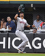 CHICAGO - AUGUST 14:  Michael Brantley #23 of the Houston Astros fields against the Chicago White Sox on August 14, 2019 at Guaranteed Rate Field in Chicago, Illinois.  (Photo by Ron Vesely/MLB Photos via Getty Images)  *** Local Caption *** Michael Brantley