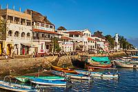 Kenya, archipel de Lamu, ville de Lamu patrimoine mondial de l'Unesco // Kenya, Lamu island, Lamu town, Unesco world heritage
