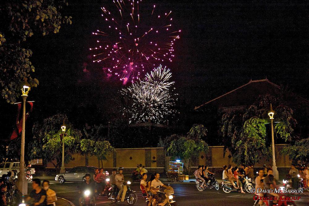 Fireworks Display For Kings Birthday