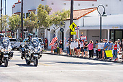 Corona Virus Freedom Rally on Del Mar in San Clemente