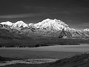 View of Denali, the Great One, from the Eielson Visitor Center, Denali National Park, Alaska.