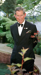 HRH THE PRINCE OF WALES at the Chelsea <br /> Flower show in London on 22nd May 2000.OEJ 123