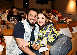 HOLLYWOOD, CALIFORNIA - July 1: Chiquis Rivera and guest at The Forever Purge early screening hosted by Chiquis Rivera at Neuehouse Hollywood on July 01, 2021 in Hollywood, California, United States (Photo by Jc Olivera / Universal Pictures)
