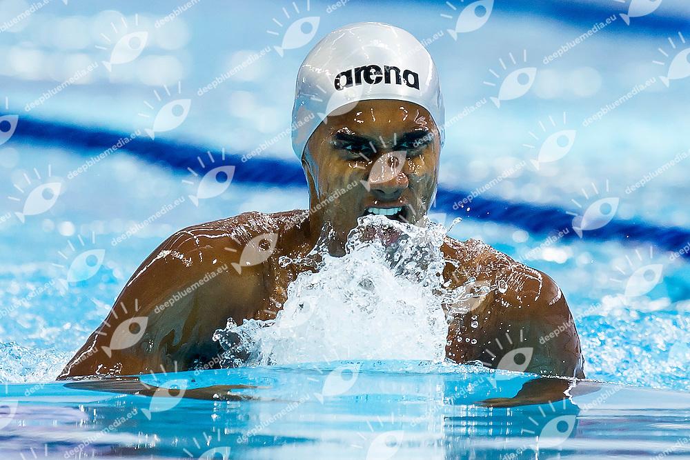 SELVARAJ PREMA Likhith IND<br /> 200 Breaststroke Men Heats<br /> Day04 28/08/2015 - OCBC Aquatic Center<br /> V FINA World Junior Swimming Championships<br /> Singapore SIN  Aug. 25-30 2015 <br /> Photo A.Masini/Deepbluemedia/Insidefoto