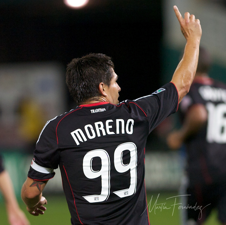 DC United bid farewell to MLS original Jaime Moreno in their final game of the 2010 season. United lost 3-2 to visiting Toronto FC