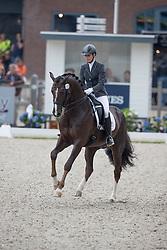 Sergeenkova Olga, RUS, Kartsevo Etoile<br /> World Championship Young Dressage Horses <br /> Ermelo 2016<br /> © Hippo Foto - Dirk Caremans<br /> 29/07/16