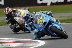 18.06.2010, Circuit, Silverstone, GBR, MotoGP, Airasia British Grand Prix, im Bild Alvaro Bautista - Rizla Suzuki team. EXPA Pictures © 2010, PhotoCredit: EXPA/ InsideFoto/ Semedia / SPORTIDA PHOTO AGENCY