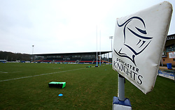 A general view of Castle Park home to Doncaster Knights - Mandatory by-line: Robbie Stephenson/JMP - 13/01/2018 - RUGBY - Castle Park - Doncaster, England - Doncaster Knights v Bristol Rugby - B&I Cup