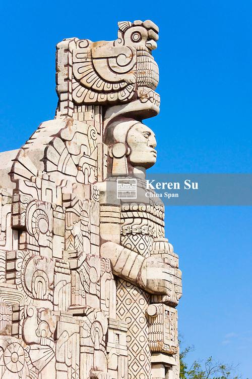Monumento a la Patria, Merida, Yucatan State, Mexico