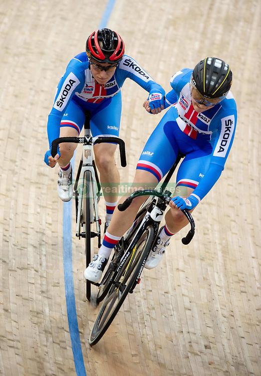 January 26, 2019 - Hong Kong, Hong Kong SAR, China - The Czech team.Women's Madison 20km race.UCI Track Cycling World Cup Hong Kong 2019, Qualifiers Leg VI at the Hong Kong Velodrome in Tseung Kwan O ,Kowloon (Credit Image: © Jayne Russell/ZUMA Wire)