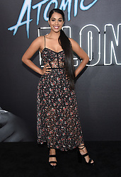 July 24, 2017 - Los Angeles, California, U.S. - Lilly Singh arrives for the premiere of the film 'Atomic Blonde' at the Ace theater. (Credit Image: © Lisa O'Connor via ZUMA Wire)