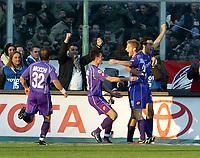 Firenze 20-11-2005<br /> Campionato  Serie A Tim 2005-2006<br /> Fiorentina Milan<br /> nella  foto esultanza Jorgensen<br /> Foto Snapshot / Graffiti