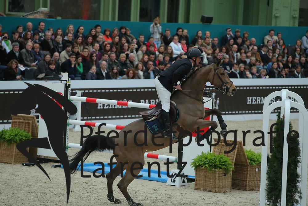 Bost, Roger Yves, Castle Forbes Myrtille Paulois<br /> Paris - Saut Hérmes 2013<br /> © www.sportfotos-lafrentz.de/Stefan Lafrentz