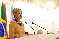 """Queen Maxima of the Netherlands - Side event organized by the Japanese Prime Minister, on the theme """"Promoting the place of women at work"""" at the Intex Osaka congress center at the G20 summit in Osaka, Japan, on June 29, 2019. Photo by Dominque Jacovides/Pool/ABACAPRESS.COM"""
