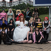 London, UK. 25nd May, 2018. People in customs of their favourites Cosplay attending London - MCM Comic Con event and having a good time held at London Excel.