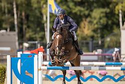 Van Meersche Steven, BEL, Nerman d'O<br /> Belgian Championship 7 years old horses<br /> SenTower Park - Opglabbeek 2020<br /> © Hippo Foto - Dirk Caremans<br />  13/09/2020