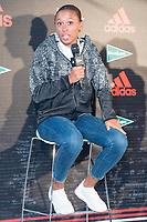 Ana Peleteiro attends to presentation of new Athletics Z.N.E. Pulse by Adidas in Madrid, Spain September 28, 2017. (ALTERPHOTOS/Borja B.Hojas)