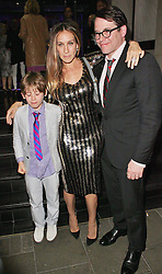 © London News Pictures. 25/06/2013. London, UK.  Sarah Jessica Parker & Matthew Broderick at the Charlie and the Chocolate Factory - Opening Night After Party . Photo credit: Brett D. Cove/LNP