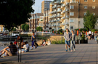 People out and about near Wandsworth  london photo by Roger Alarcon