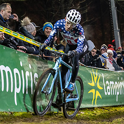 2019-12-29: Cycling: Superprestige: Diegem: US national champion Gage Hecht