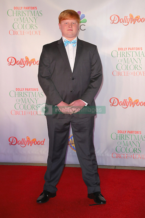 Celebrities attend the premiere of 'Dolly Parton's Christmas of Many Colors: Circle of Love' at Dollywood in Tennessee, TN. 22 Nov 2016 Pictured: Forrest Deal. Photo credit: American Foto Features / MEGA TheMegaAgency.com +1 888 505 6342