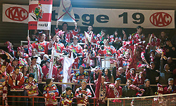 15.03.2011, Stadthalle, Klagenfurt, AUT, EBEL, EC KAC vs EC VSV, im Bild Fanclub Stiege 19, EXPA Pictures © 2011, PhotoCredit: EXPA/ G. Steinthaler
