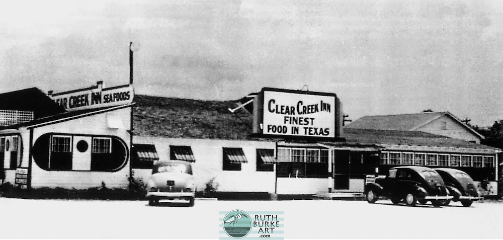 """1940's Clear Creek Inn on Page 45 of the """"Around Clear Lake Book"""""""