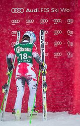 28.12.2014, Hohe Mut, Kühtai, AUT, FIS Ski Weltcup, Kühtai, Riesenslalom, Damen, 2. Durchgang, im Bild Elisabeth Goergl (AUT) // Elisabeth Goergl of Austria reacts after 2nd run of Ladies Giant Slalom of the Kuehtai FIS Ski Alpine World Cup at the Hohe Mut Course in Kuehtai, Austria on 2014/12/28. EXPA Pictures © 2014, PhotoCredit: EXPA/ JFK