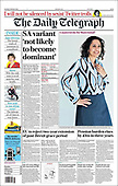 February 09, 2021 (UK): Front-page: Today's Newspapers In United Kingdom