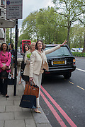 MRS. NITZIA EMBIRICOS, The Foreign Sisters lunch sponsored by Avakian in aid of Cancer Research UK. The Dorchester. 15 May 2012